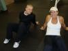 Trainer Clark Simons and Jody Carafa, member