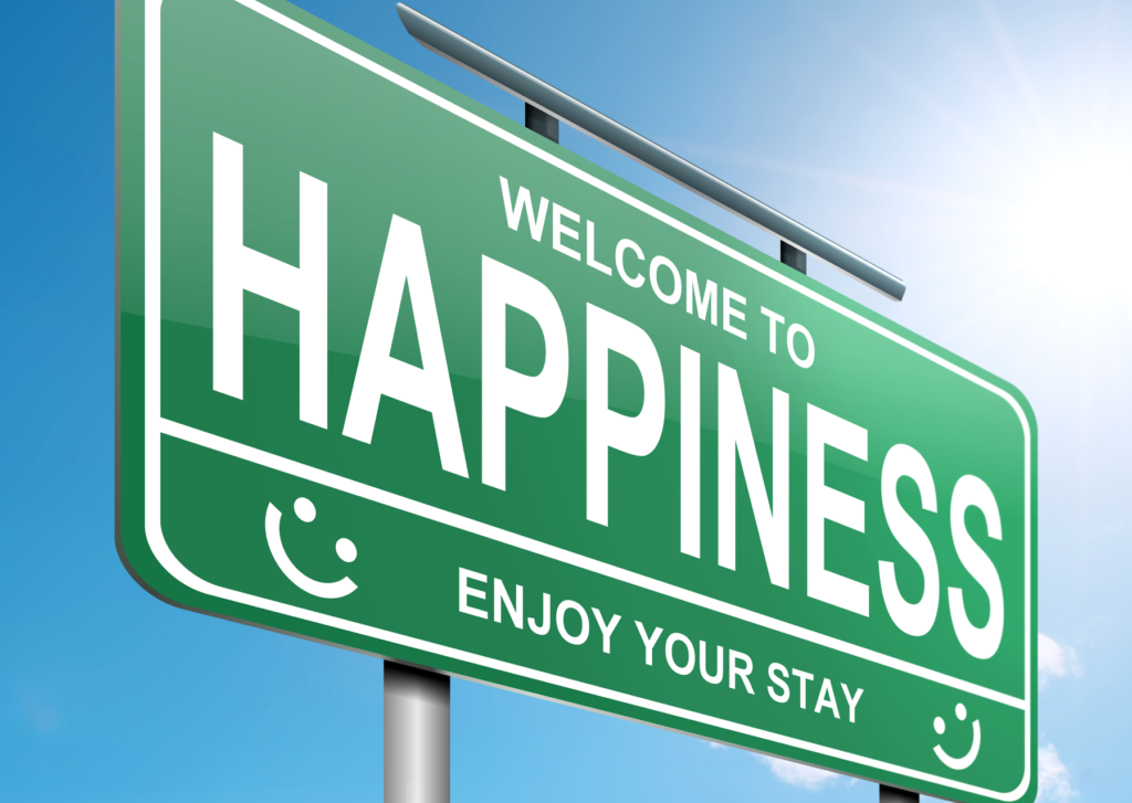 happiness is a journey and destination