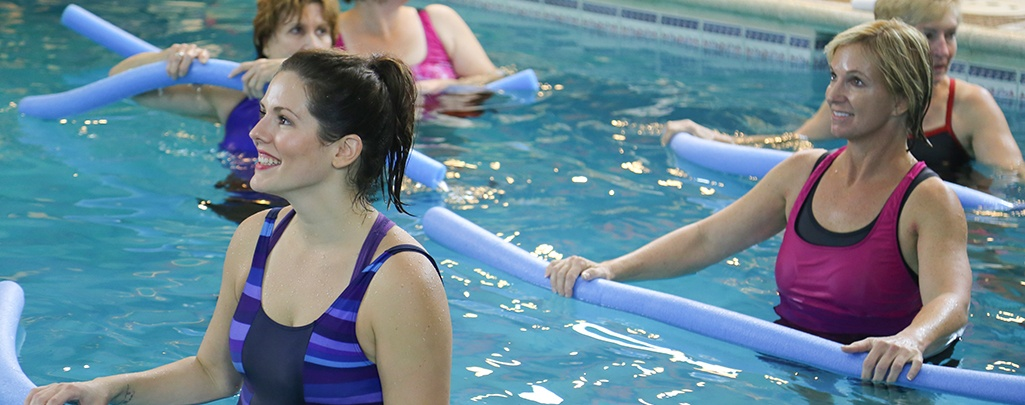 Cornerstone Clubs Aqua Fitness Class