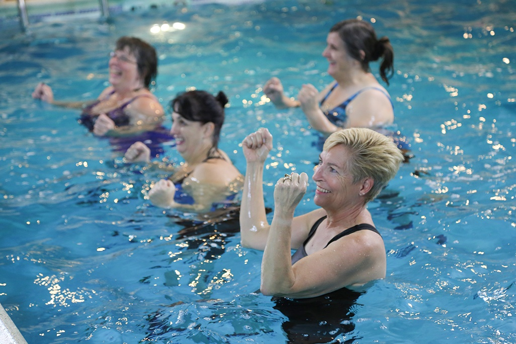 Water in Motion Class Platiunum for Seniors and less physically active.
