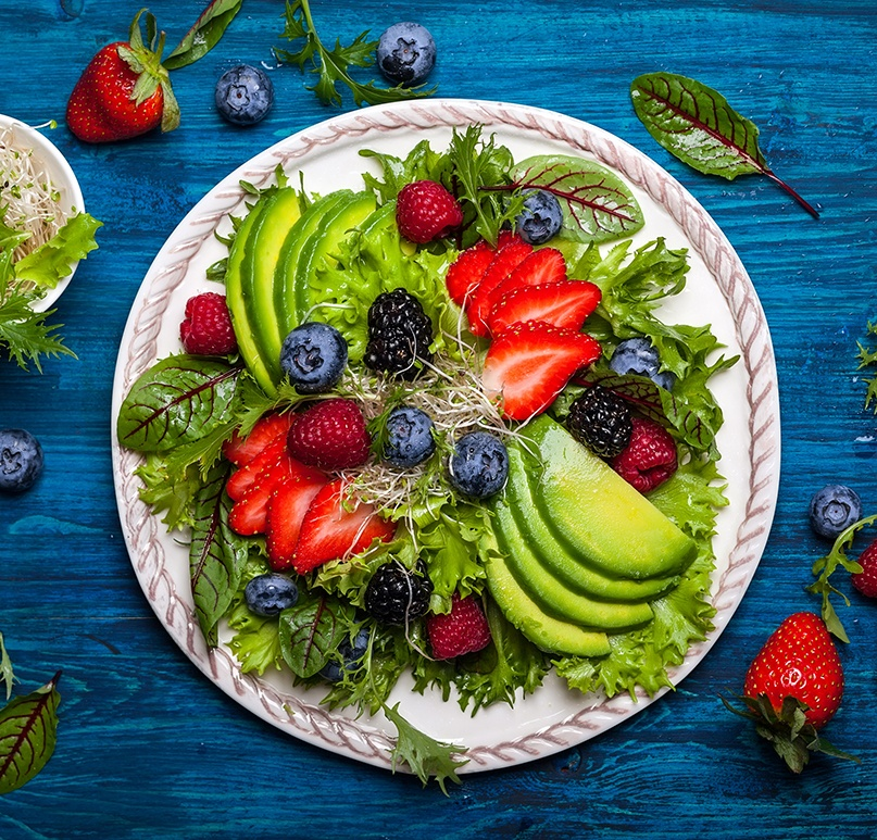 Nutrition is a factor in wellness coaching