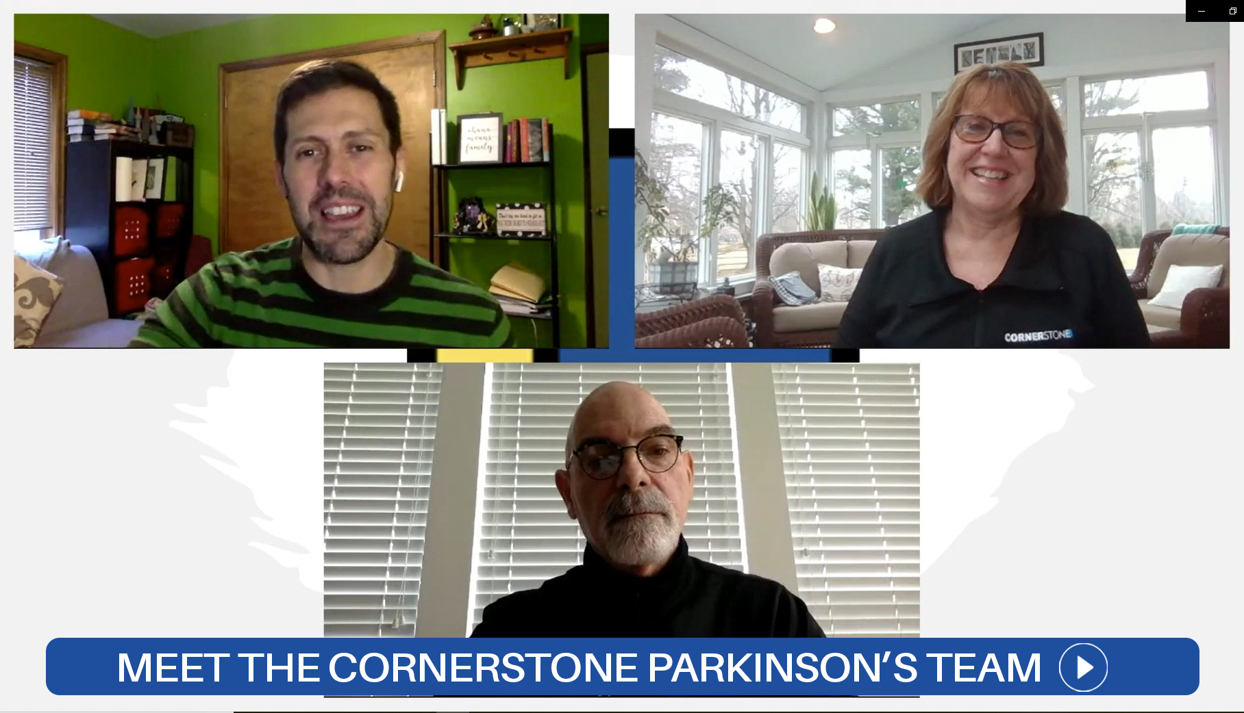 Meet the Parkinson's Fit team at Cornerstone in this great interview style video.