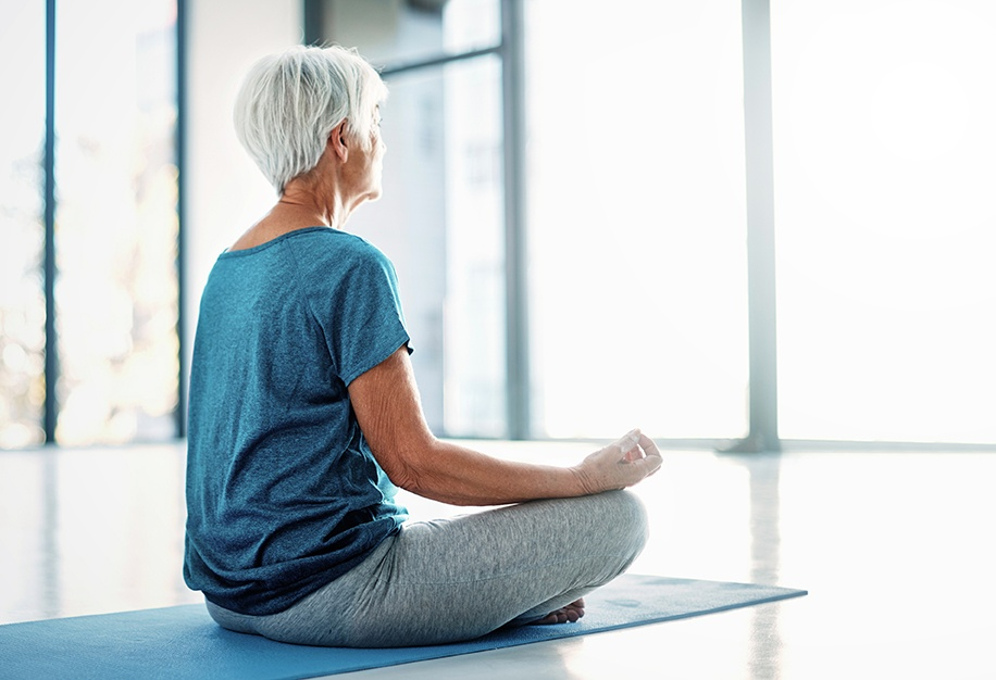 Yoga meditation for wellness