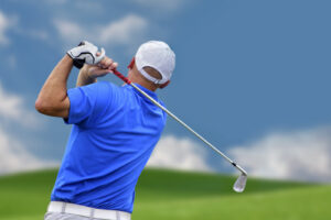 Fitness training for golfers can improve performance.