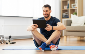 Virtual fitness is a great option when traveling.