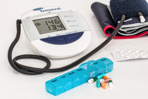 Love your heart - monitor blood pressure regularly.