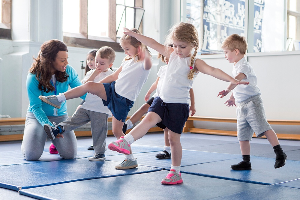 Cornerstone Clubs have morning FitKids classes for preschool children.
