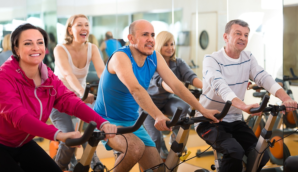Cycling is a great way to gert your exercise.