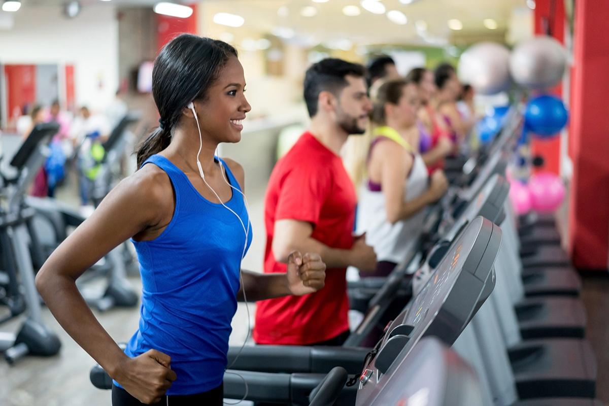 Teadmill workout