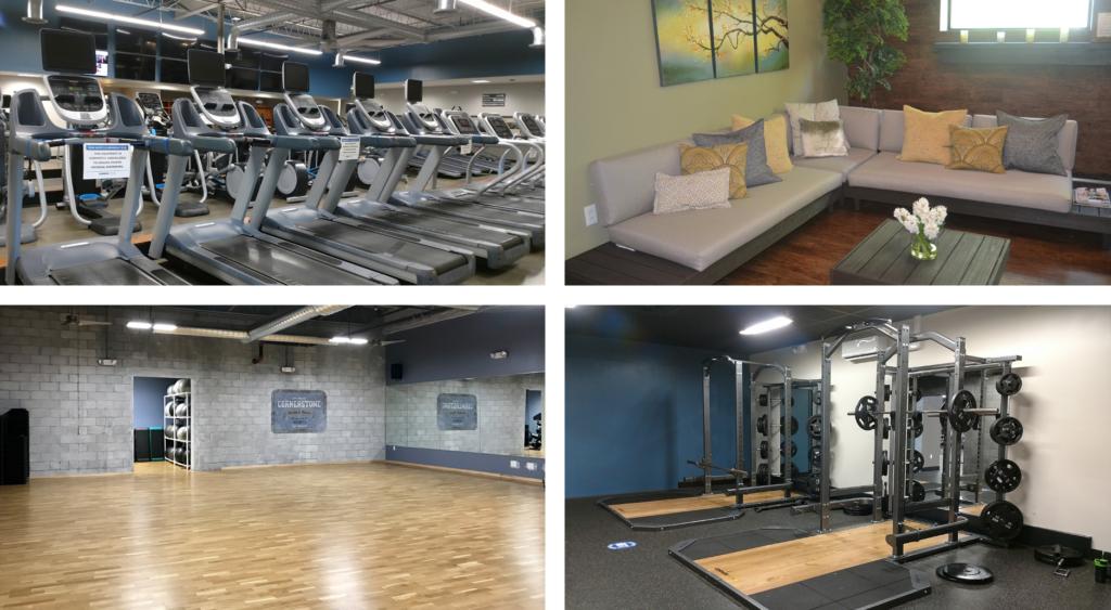 Cornerstone New Hope Fitness spaces